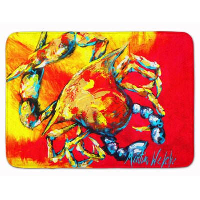 Crab Hot Dang Memory Foam Bath Rug