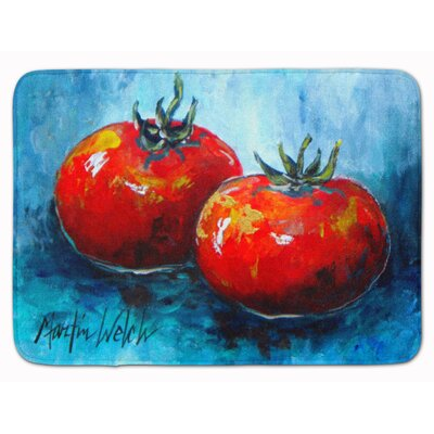 Vegetables/Tomatoes Toes Memory Foam Bath Rug