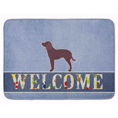 American Water Spaniel Welcome Memory Foam Bath Rug