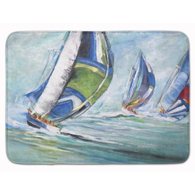 Burnham Boat Race Memory Foam Bath Rug