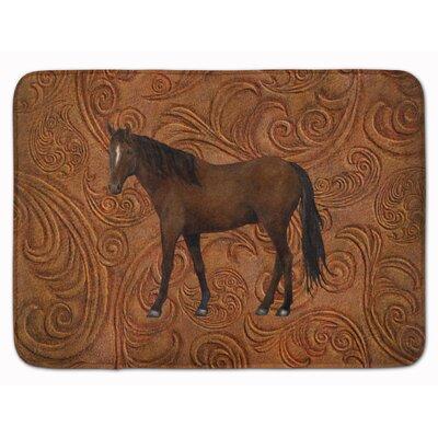 Horse Memory Foam Bath Rug