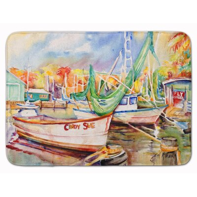 Sailboat Cindy Sue Memory Foam Bath Rug