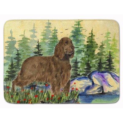 Field Spaniel Memory Foam Bath Rug