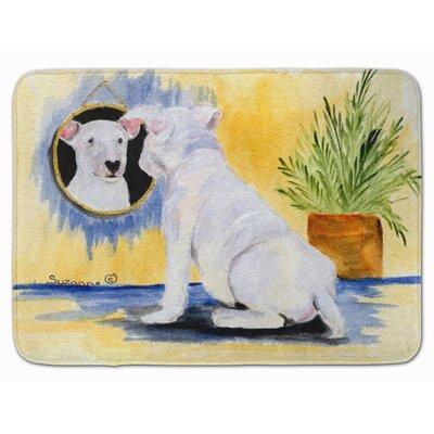 Bull Terrier Memory Foam Bath Rug