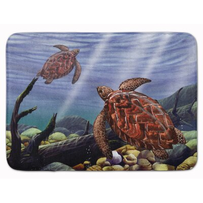 Sea Turtles Memory Foam Bath Rug