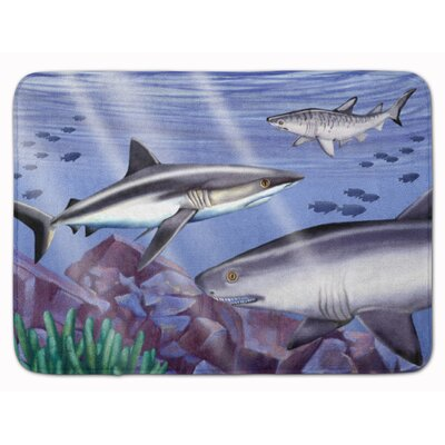 Sharks Memory Foam Bath Rug