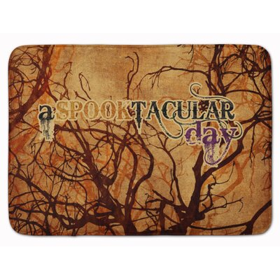 A Spook Tacular Day Halloween Memory Foam Bath Rug