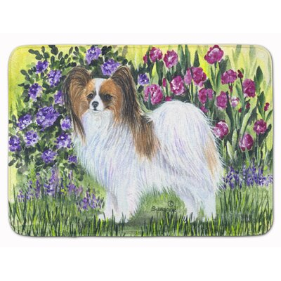 Papillon Flower Memory Foam Bath Rug