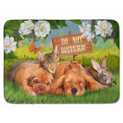 Retriever and Sharpei Memory Foam Bath Rug