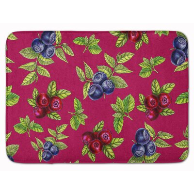 Berries Bath Rug Color: Pink
