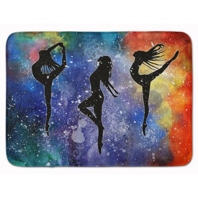 Dancers Memory Foam Bath Rug