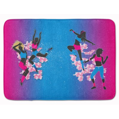 Hip Hop Memory Foam Bath Rug
