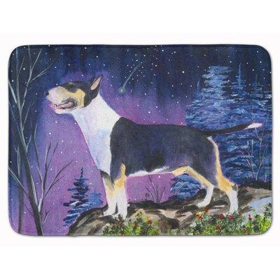 Donoghue Bull Terrier Memory Foam Bath Rug