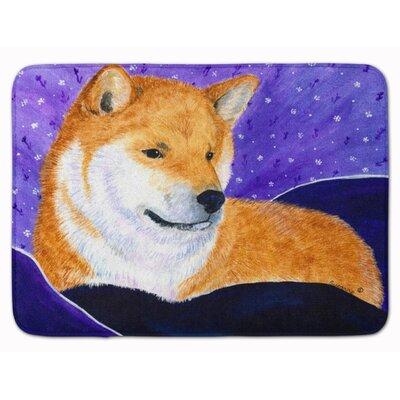 Shiba Inu Memory Foam Bath Rug