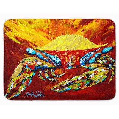 Crab Buster Brown Memory Foam Bath Rug