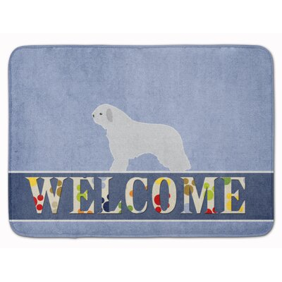 Spanish Water Dog Welcome Memory Foam Bath Rug