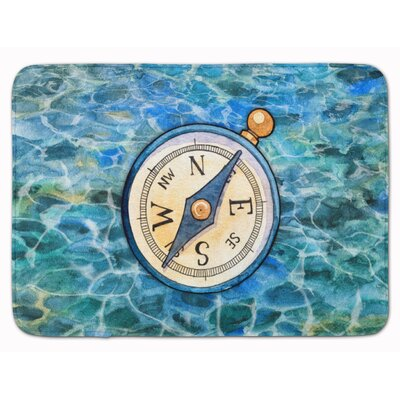 Compass Memory Foam Bath Rug