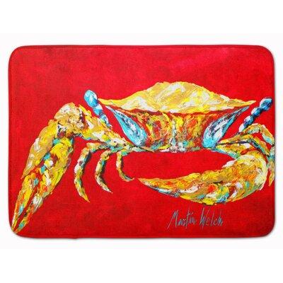 Crab Sr Memory Foam Bath Rug