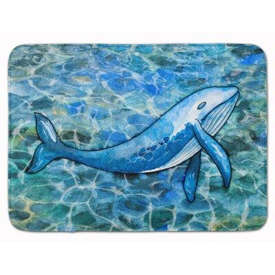 Humpback Whale Memory Foam Bath Rug