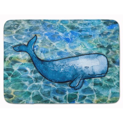 Telton Sperm Whale Cachalot Memory Foam Bath Rug