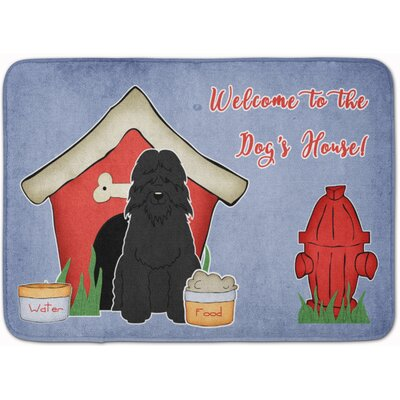 Dog House Bouvier des Flandres Memory Foam Bath Rug