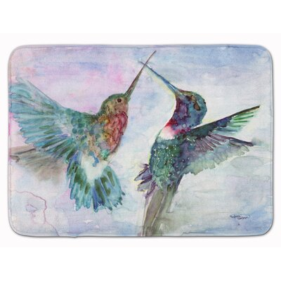 Hummingbird Combat Memory Foam Bath Rug