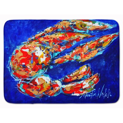 Craw Momma Crawfish Memory Foam Bath Rug