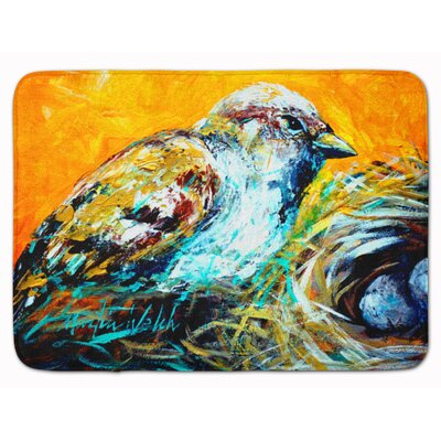 Look at the Birdie Memory Foam Bath Rug
