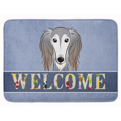 Langenfeld Saluki Welcome Memory Foam Bath Rug