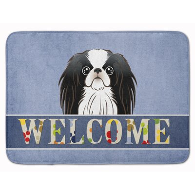 Kenwood Japanese Chin Welcome Memory Foam Bath Rug