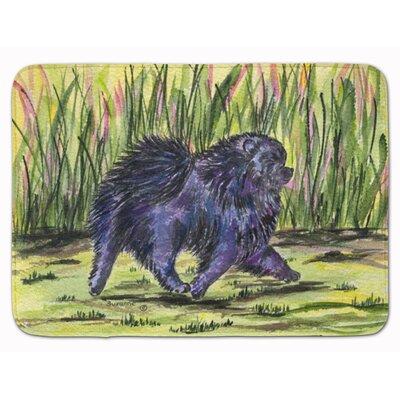 Pomeranian Memory Foam Bath Rug