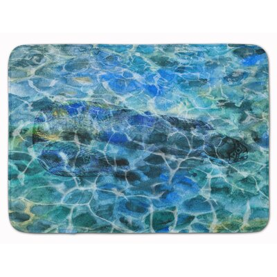 Eel Under water Memory Foam Bath Rug