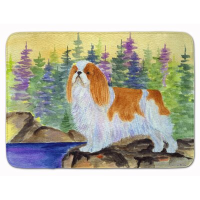 English Toy Spaniel Memory Foam Bath Rug