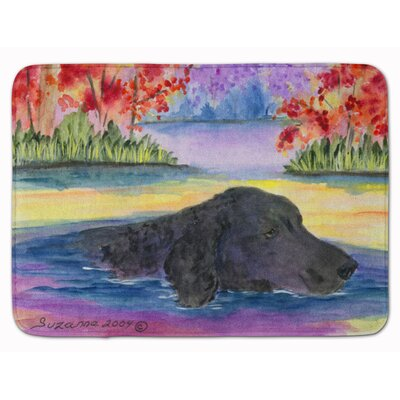 Curly Coated Retriever Memory Foam Bath Rug
