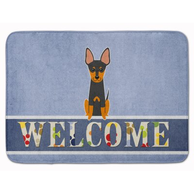English Toy Spaniel Welcome Memory Foam Bath Rug