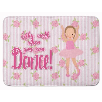 Ballet Short Hair Memory Foam Bath Rug