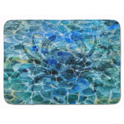 Crab Under water Memory Foam Bath Rug