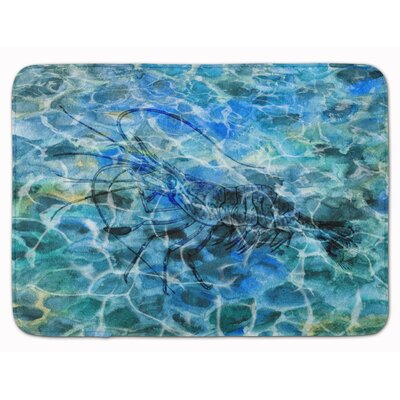 Odin Shrimp Under Water Memory Foam Bath Rug