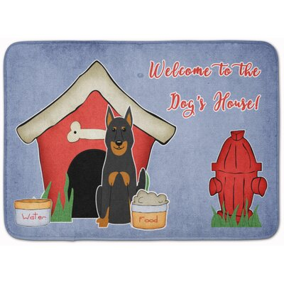 Dog House Beauce Shepherd Dog Memory Foam Bath Rug