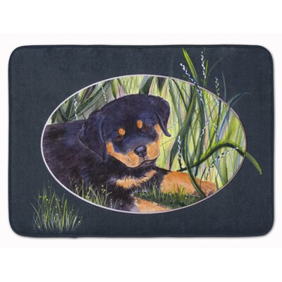 Rottweiler Memory Foam Bath Rug