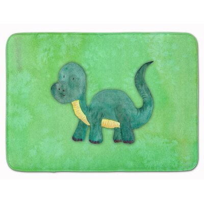 Harris Brontosaurus Watercolor Memory Foam Bath Rug