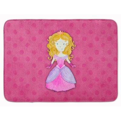 Princess Watercolor Memory Foam Bath Rug
