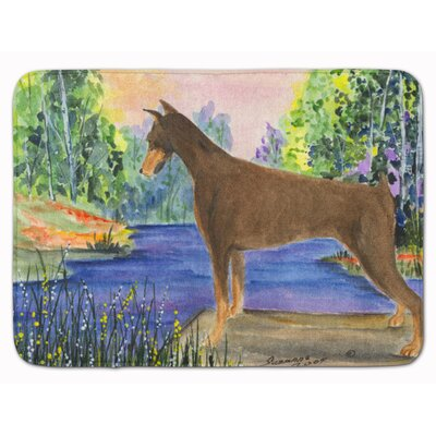 Doberman Memory Foam Bath Rug