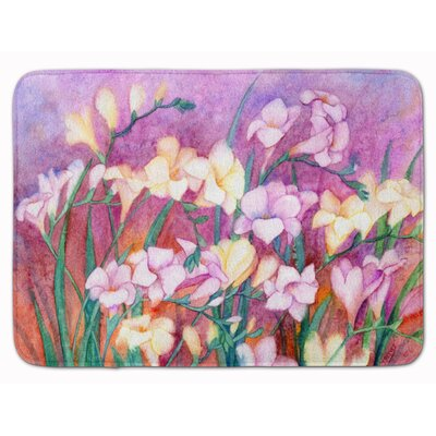 Freesias Memory Foam Bath Rug