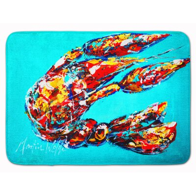 Lucy the Crawfish Memory Foam Bath Rug