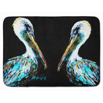 Pelican Dressed Memory Foam Bath Rug