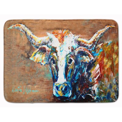 On the Loose Cow Memory Foam Bath Rug