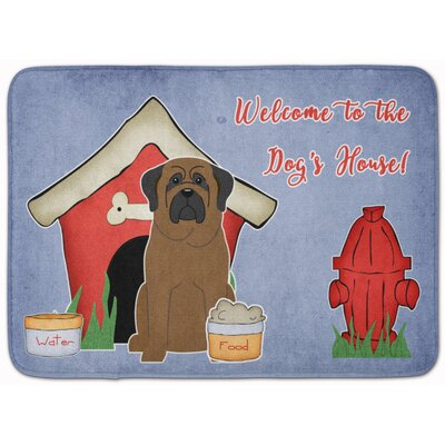 Dog House Bullmastiff Memory Foam Bath Rug