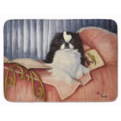Kenwood Japanese Chin Reading in Bed Memory Foam Bath Rug