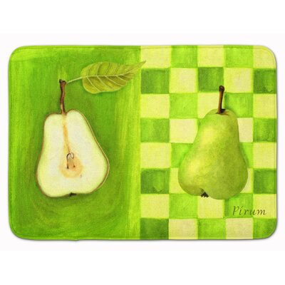 Pear by Ute Nuhn Memory Foam Bath Rug